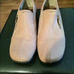 Tan Leather Clarks
